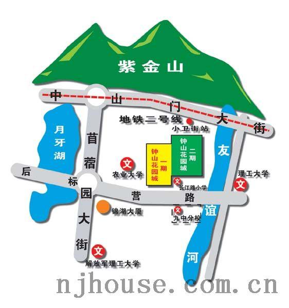 珠海市钟山地图