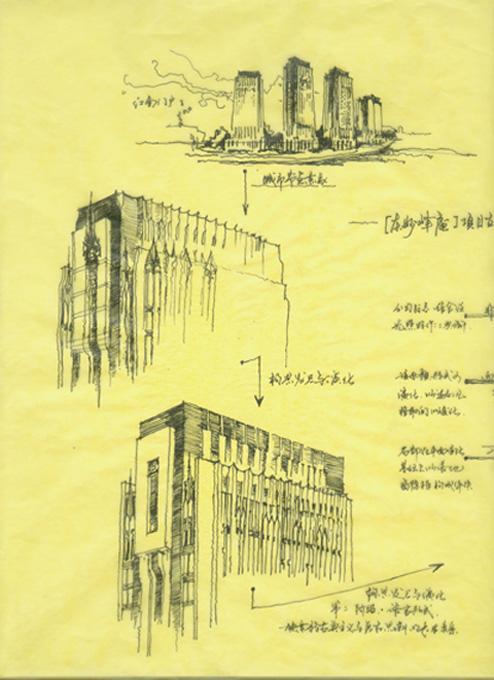 手绘图-华侨路茶坊-南京房地产-365地产家居网