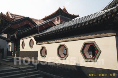由于中国建筑以木结构为主体